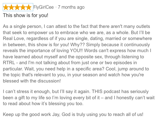 Stitcher RadioPodcast Review 1