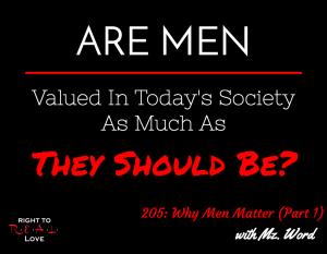 Why Men Matter (Part 1)