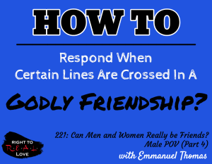 Can Men and Women Really be Friends? - Male POV (Part 4)