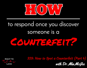 How to Spot a Counterfeit (Part 4) with Dr. Mia McGee