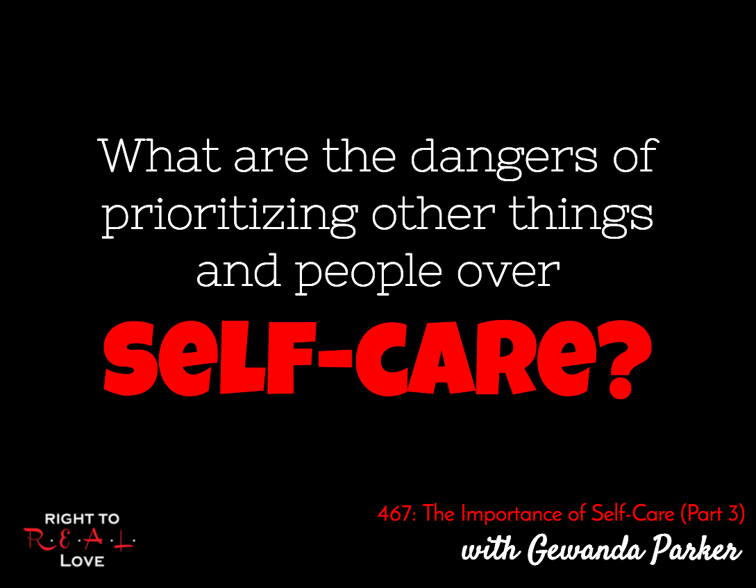 The Importance of Self-Care (Part 3) with Gewanda Parker