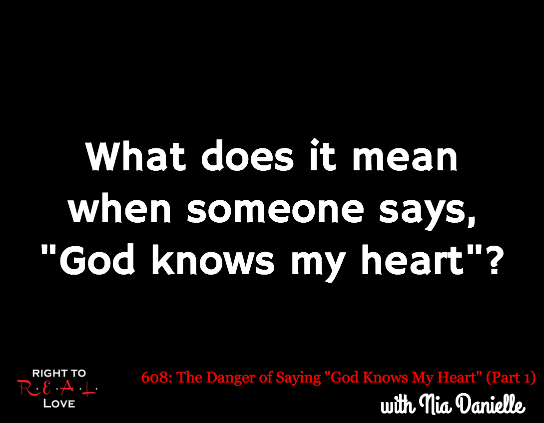 the danger of saying quot god knows my quot part 1