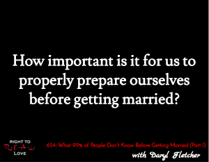 What 99% of People Don't Know Before Getting Married (Part 1)