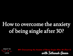 How to overcome being single