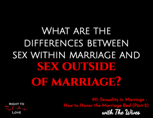 Sexuality in Marriage - How to Honor the Marriage Bed (Part 2)