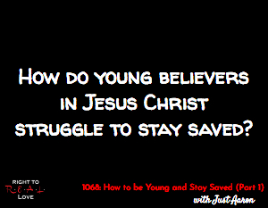 How to be Young and Stay Saved (Part 1)