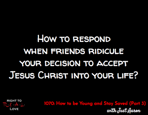 How to be Young and Stay Saved (Part 3)