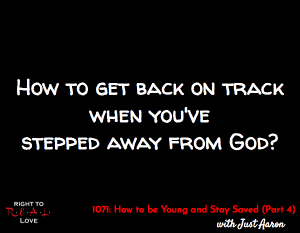 How to be Young and Stay Saved (Part 4)