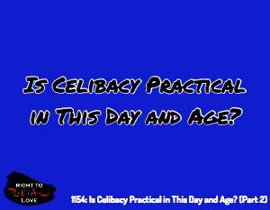Is Celibacy Practical?