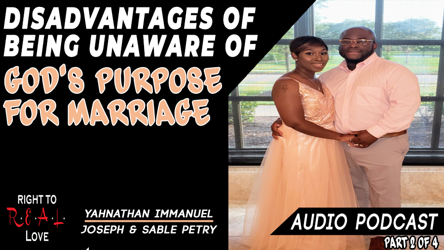 Disadvantages of Being Unaware of God's Purpose for Marriage